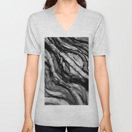 black and white splendor Unisex V-Neck