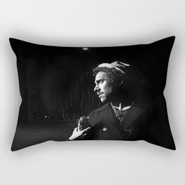Mike Johnston in the Mission | 2012 Rectangular Pillow