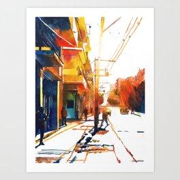 Bar in Havana Art Print