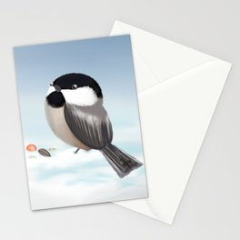 Black-capped Chickadee (Canavians Series) Stationery Cards