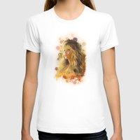 jennifer lawrence T-shirts featuring Jennifer Lawrence II by Rene Alberto