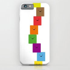 happy cubes iPhone 6 Slim Case