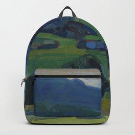 Wassily Kandinsky - Murnau – Blick über den Staffelsee Backpack