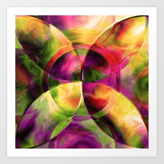 Every New Beginning Comes From Some Other Beginnings' End 3 Art Print