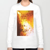 horses Long Sleeve T-shirts featuring Horses by Vitta