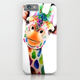GIRAFE--ART iPhone Case