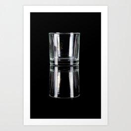 glass on black Art Print