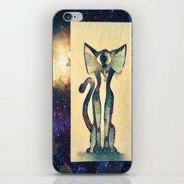 Cosmic Kitty iPhone Skin