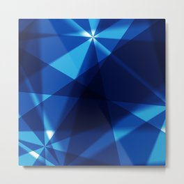 BLUE FOR YOU BLUE FOR ME Metal Print