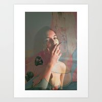 Smoke Rings Art Print