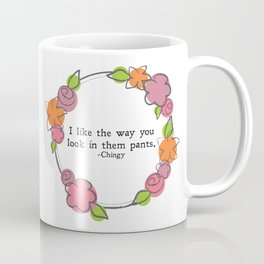 Floral - Them Pants Coffee Mug