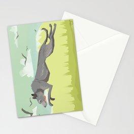 Scottish Deerhound Stationery Cards