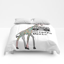Giraffe Music Comforters
