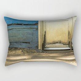 Ruined Door Rectangular Pillow