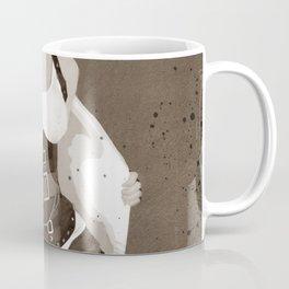 Steampunk Woman In Stripes Coffee Mug