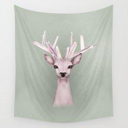 Crystal Deer Wall Tapestry