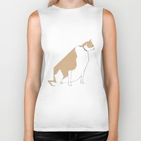 lucy Biker Tanks featuring Lucy by RGromek