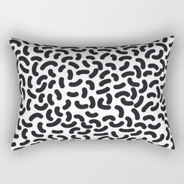 black worms Rectangular Pillow