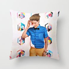 Mon Throw Pillow