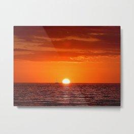 fire sunset #society6 #decor #buyart Metal Print
