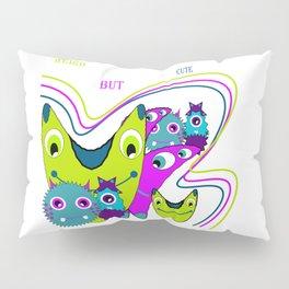 fuuny monster Pillow Sham