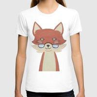 mr fox T-shirts featuring Mr. Fox by Kelly Rae Bahr