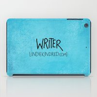 writer iPad Cases featuring Writer by Indie Kindred