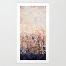 Hazy Horizon I Art Print