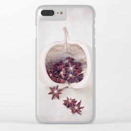 WHITE CHRISTMAS Clear iPhone Case