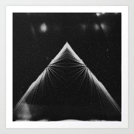 Piramide de la Luna Art Print