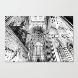 York Minster Art Canvas Print