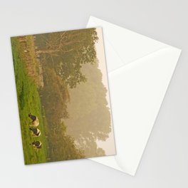 Three Cows by the old Tree Stationery Cards