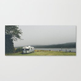 Riverside Campsite Canvas Print