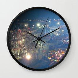 FUNTOWN AMUSEMENT Wall Clock