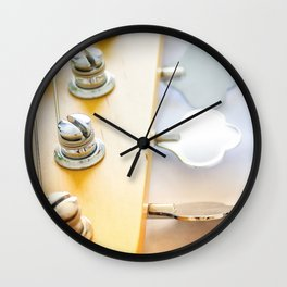 Copper Light Wall Clock
