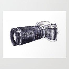 Canon Camera Art Print