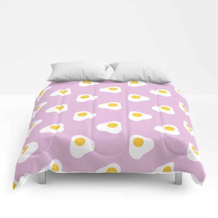 Fried Eggs Comforters