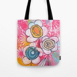 flower garden no.01 Tote Bag