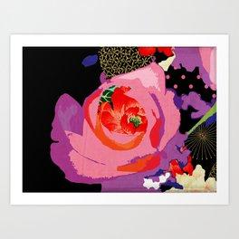 Flowers Series_v01 Art Print