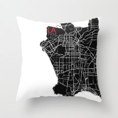 Los Angeles 1934 Throw Pillow