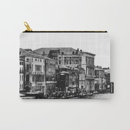 Along the Grand Canal b&w Carry-All Pouch