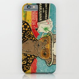 This is Bat Country iPhone Case