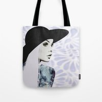 silver Tote Bags featuring Silver by EISENHART