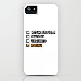 Drunk Beer Alcohol Gift Idea iPhone Case