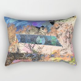 Farmhouse Abstract PhotoArt Rectangular Pillow