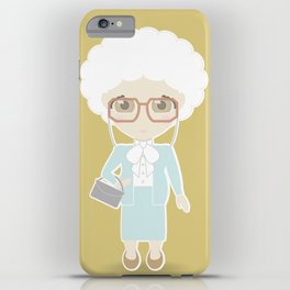 Girls in their Golden Years - Sophia iPhone Case