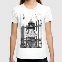 apollonia T-shirts featuring asc 589 - La maison close (No trespassing) by From Apollonia with Love
