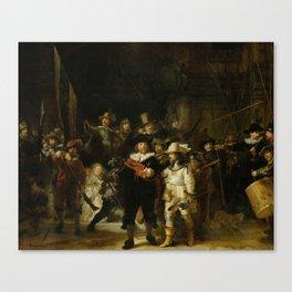 "Rembrandt Harmenszoon van Rijn, ""The Night Watch"", 1642 Canvas Print"