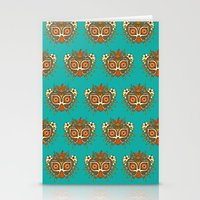 majora Stationery Cards featuring Tiki Majora by Paula García