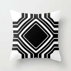 Squareabout Throw Pillow